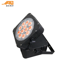 12x10w /15w RGBW 4in1/ 5in1 DMX wireless Battery light