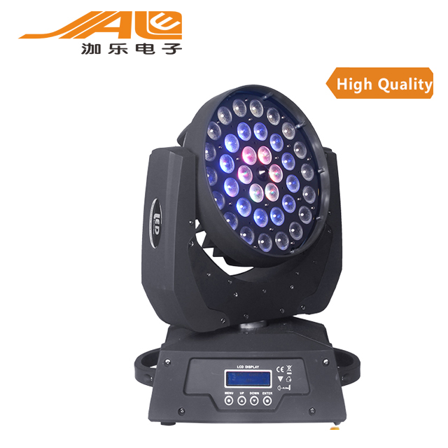 36pcs 10w RGBW 4in1 led wash Zoom Moving head stage lights