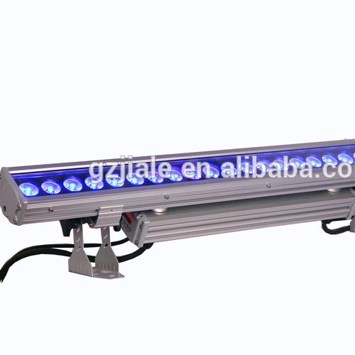 high lumen 24X10W rgbw led wall washers light dmx led light bar light
