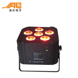 LED 9/12Pcs Wall Washer Battery Lights,wireless dmx moving head lighting