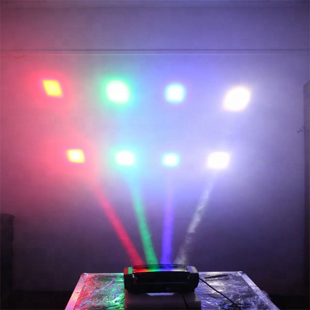 8 eyes white/RGBW led Beam night club lighting