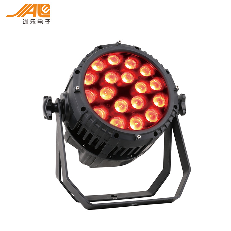 JL-DGFS18*10w 5 in 1 RGBWA LED outdoor Stage Light