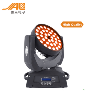 Promotional high power 36*15w disco light 5in1 rgbw dmx Zoom Wash beam led moving head