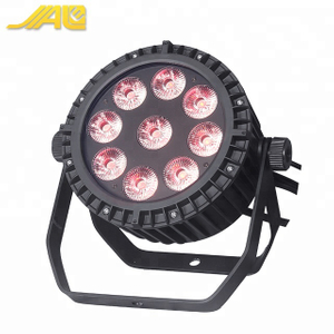 Top1 9x10w RGBW 4in1 Outdoor Par LED Stage Lighting For Stage Decoration