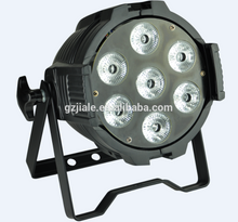 LEDs Stage Par Can Light 7*10W 4 in 1 Dj Lights, led dmx par 7x10w led par rgbw