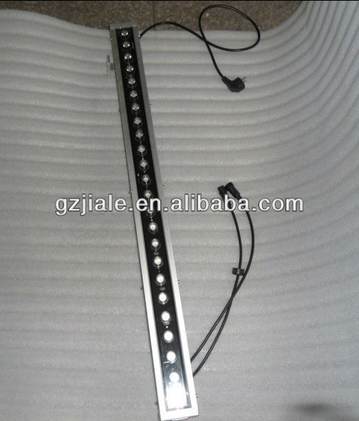 24x3w UV led bar light/ waterproof UV bar