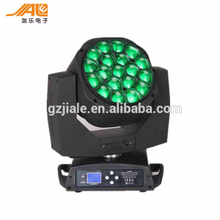 19pcs 15w RGBW 4in1 Led Bee eyes moving head Lights for stage decor