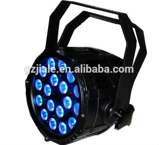 18pcs 10w RGBW 4in1 outdoor LED PAR Light Ip65 Events lights