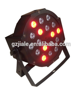 HOT Sell 18x3w RGB led Flat par light