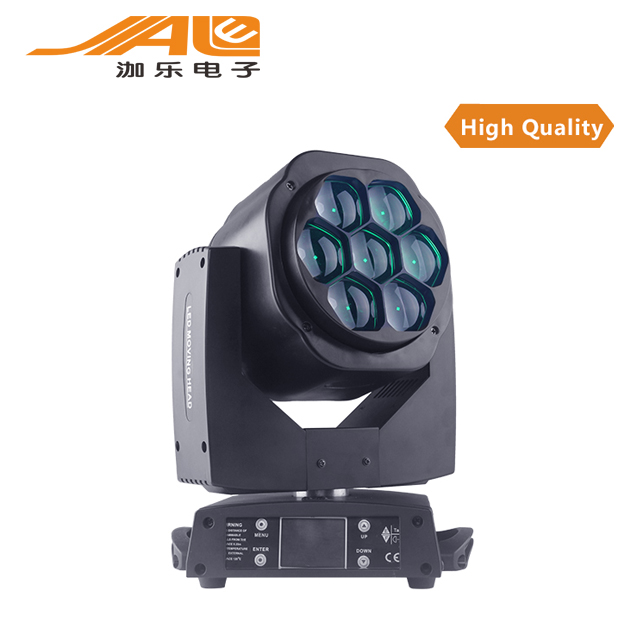 bee eyes 7x15w RGBW 4in1 DMX high power moving head stage show lights