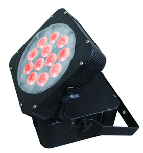 Stage Light 12pcs 10w dmx wireless battery powered led par
