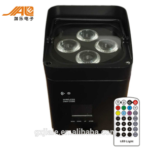 4x18w 6in1 wireless IRC battery powered led par