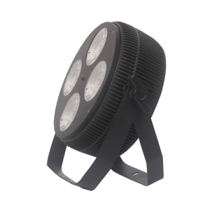 Individually Controlled 4PCS 40W COB LED Par Light RGBW LED Mini Par Lights DMX Par Can Lights