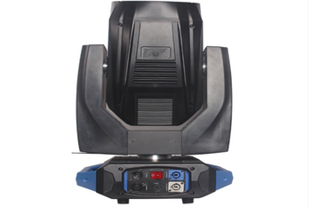What is the difference between beam light and moving head light